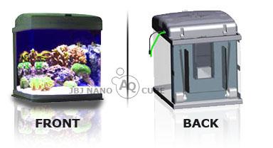 Jbj 28 Gallon Nano Cube Quad Cf Jbjnanocubes Com