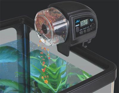 Jbj automatic fish feeder aqua feed for Automatic fish feeders